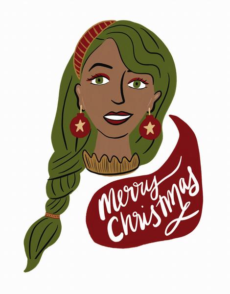 Merry Christmas Girl