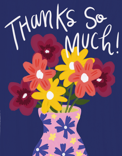 Floral Thanks So Much