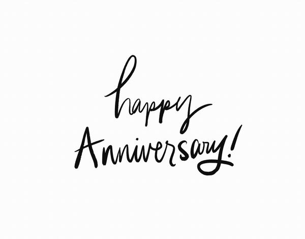 Simple Happy Anniversary