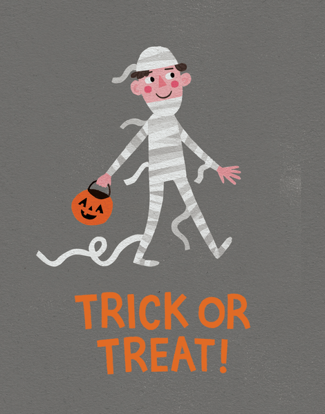 Trick Or Treat Mummy