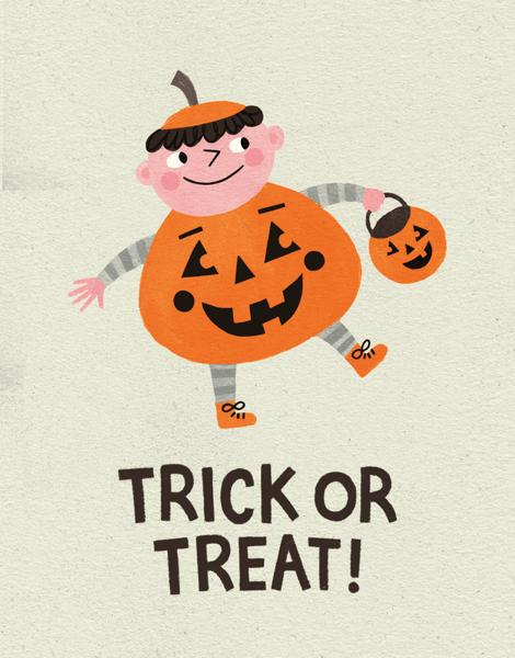 Trick Or Treat Pumpkin