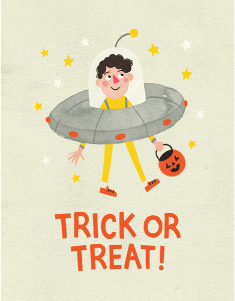 Trick Or Treat UFO