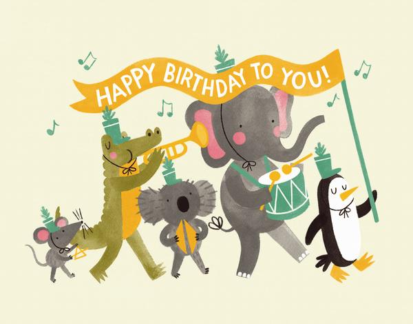 Animals Birthday Parade