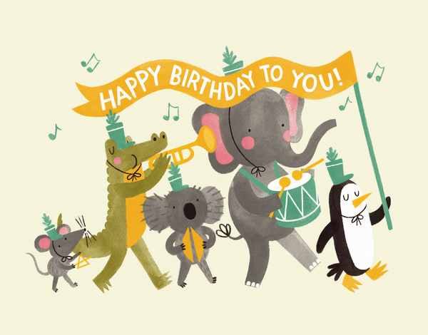 Animals Birthday Parade