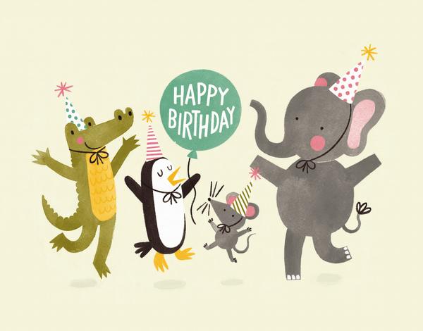 Party Animals Balloon
