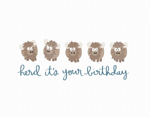 Herd It's Your Birthday