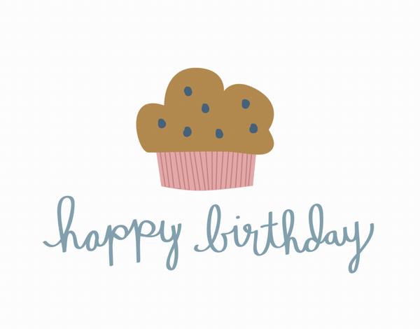 Birthday Muffin