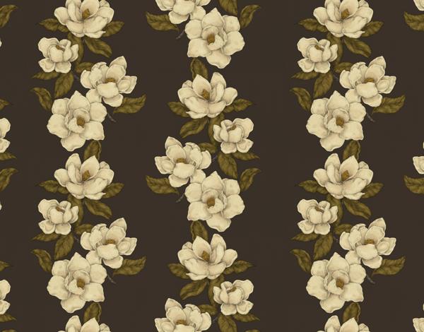 Rustic Magnolia Pattern Stationery