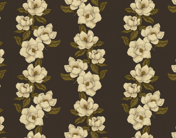 Rustic Magnolia Pattern Stationery