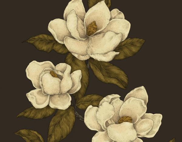 Rustic Sepia Magnolias Stationery