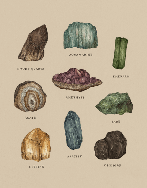 Gems And Minerals