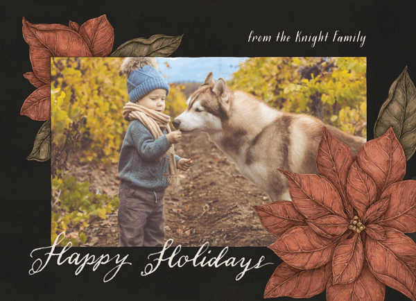 poinsettia-frame-happy-holidays-card