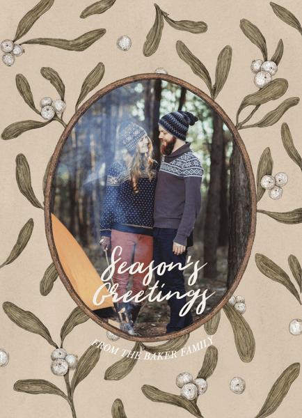 vintage-mistletoe-seasons-greetings-card