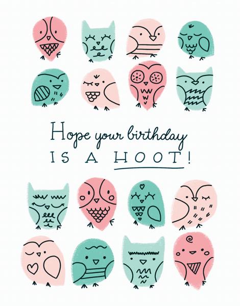 Birthday Hoot