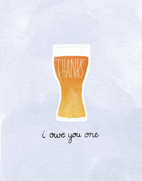 I Owe You One