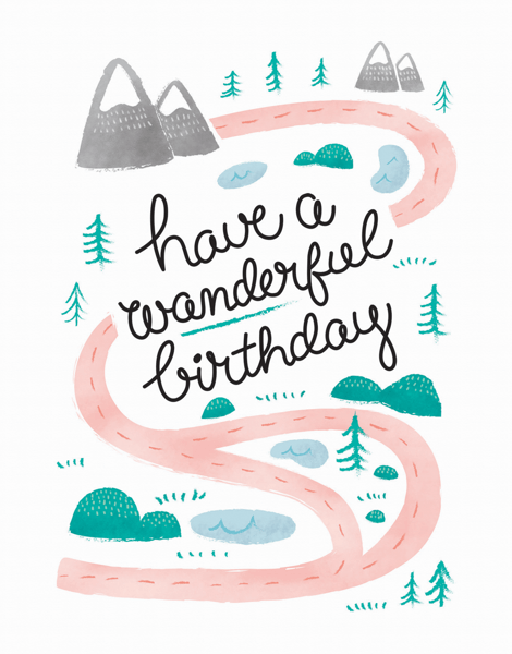 Wanderful Birthday
