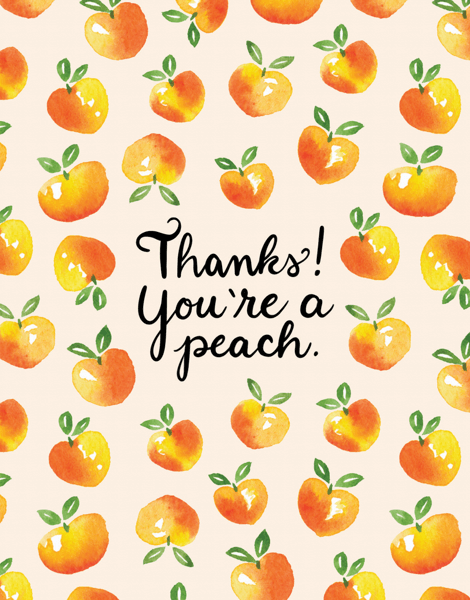 You're A Peach