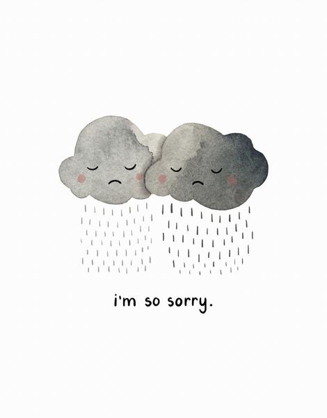 I'm So Sorry Rainclouds