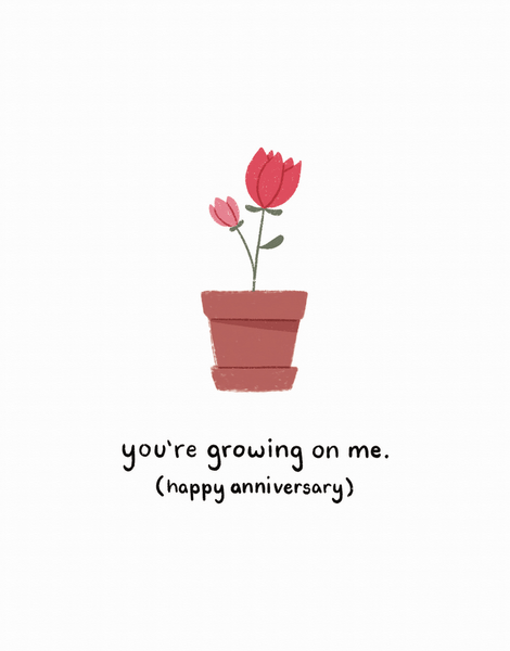 You're Growing On Me