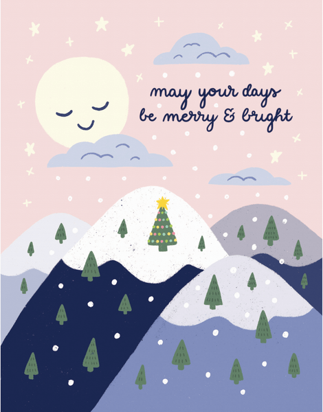 Merry And Bright Mountains