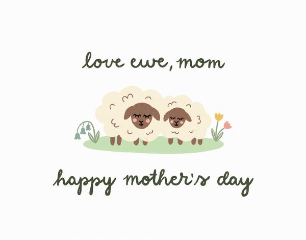 Love Ewe Mom