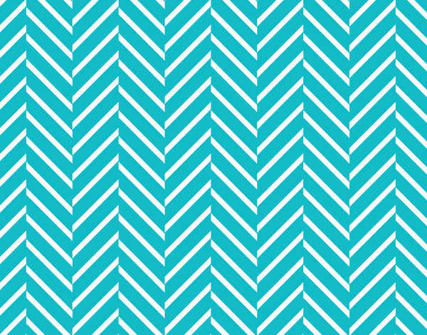 Bright Blue Zig Zag Pattern Stationery
