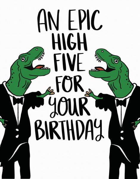 Epic High Five
