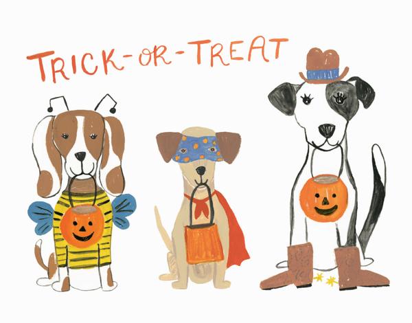 Halloween Puppies