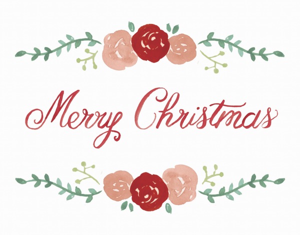 Red Roses Christmas