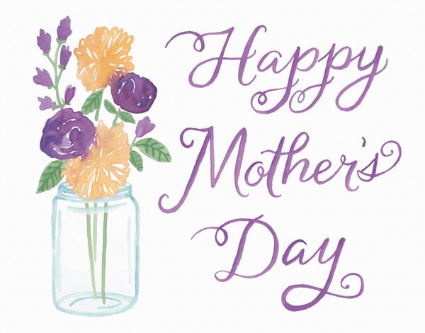 Mason Jar Mother's Day