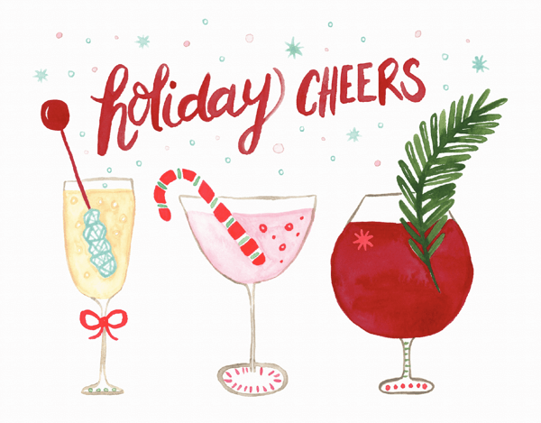 Holiday Drinks Cheers