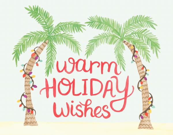 Holiday Palms