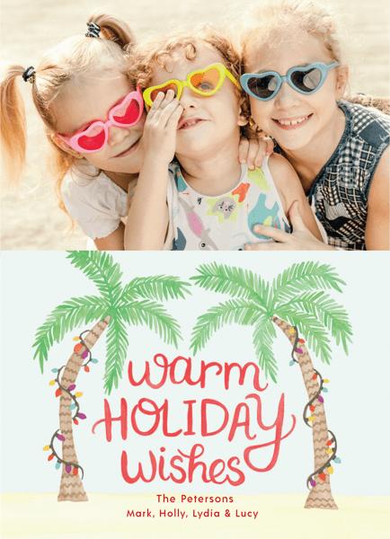 Holiday Palms Photo