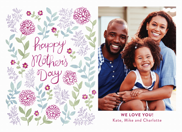 Mother's Day Floral Photo