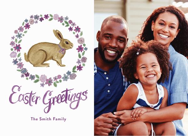 Rabbit Easter Greetings