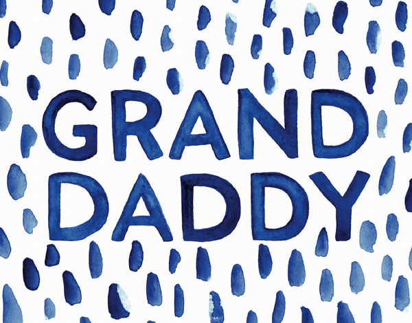 Grandaddy Watercolor Dots