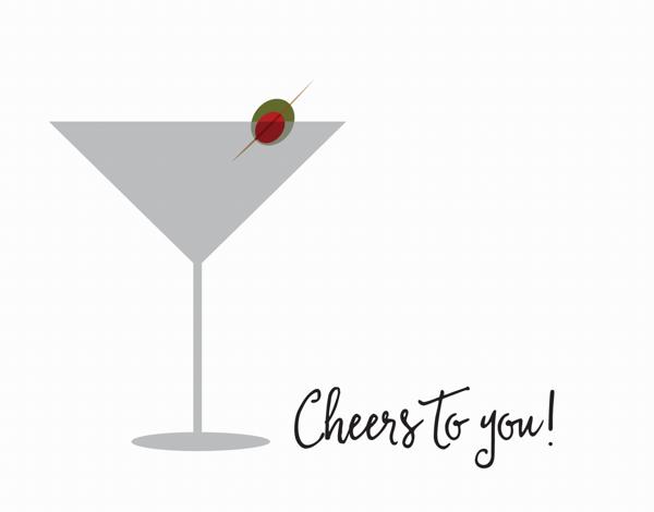 Martini Holiday Cheer