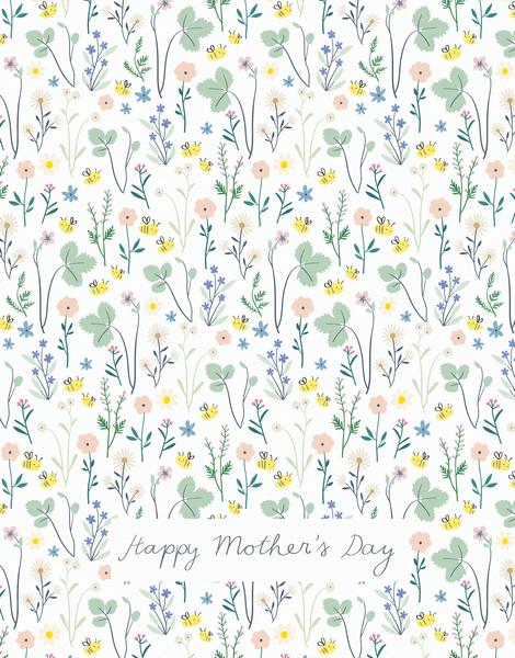 Happy Mother's Day Bee Garden