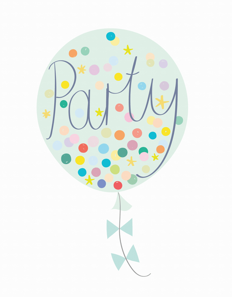 Party Balloon Mint