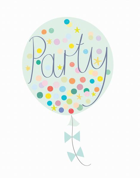 Party Balloon Mint