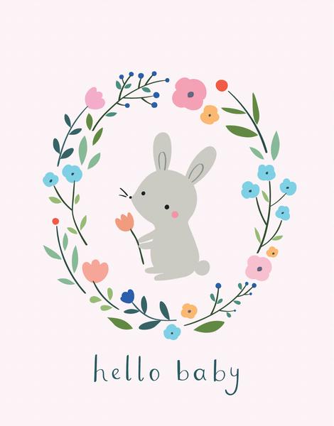 Rabbit Wreath