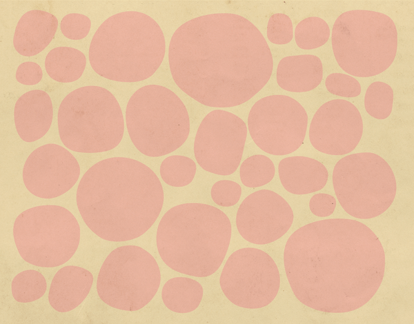 Pink Pebbles Stationery