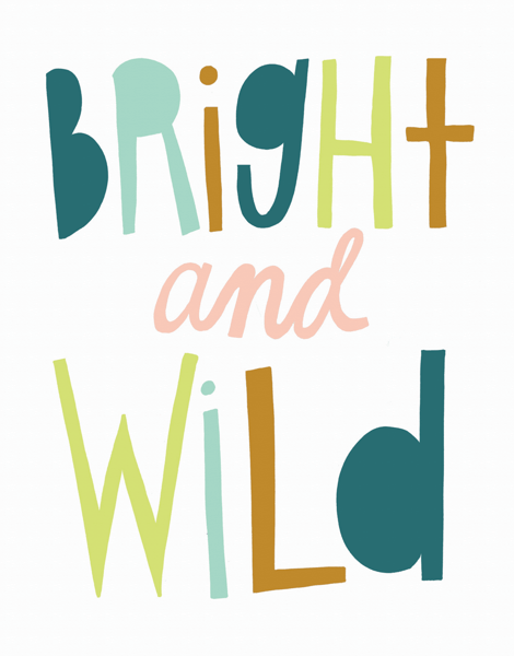 Fun Bright and Wild Card