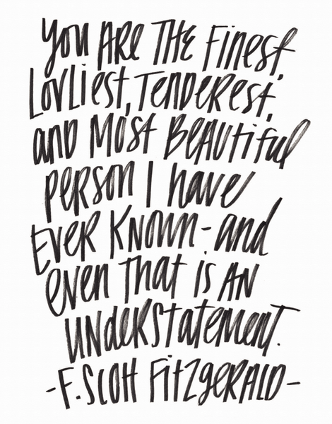 Fitzgerald Quote