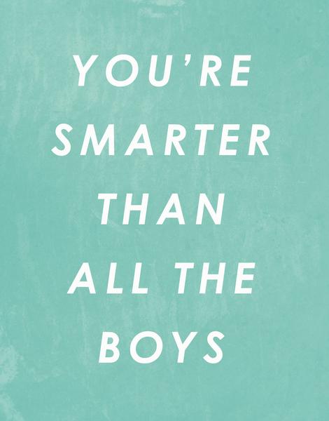 Smarter Than Boys