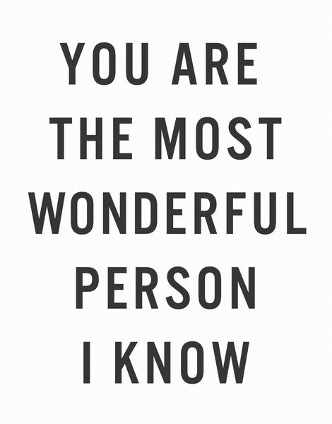 Wonderful Person