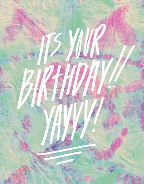 Yayy Birthday