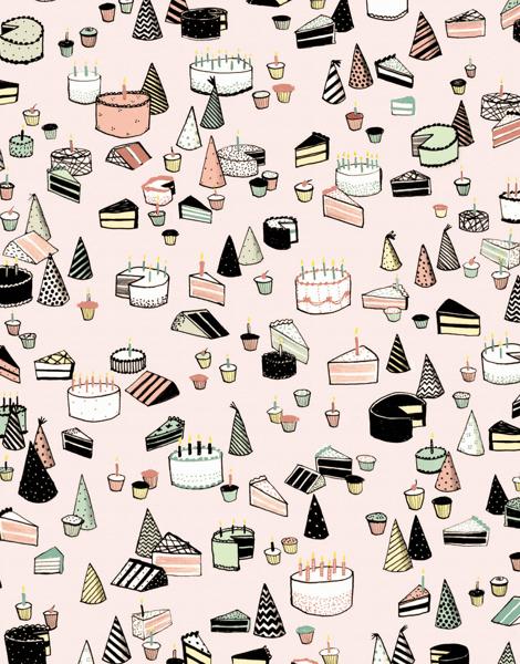 Birthday Cake Pattern