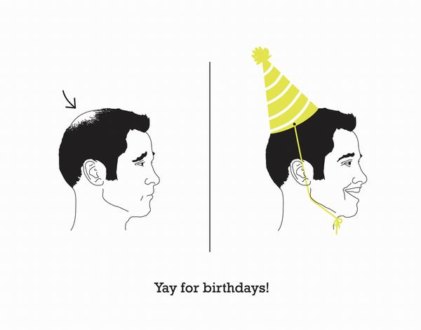 Quirky Birthday Card