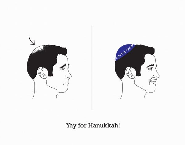 Funny Hanukkah Card